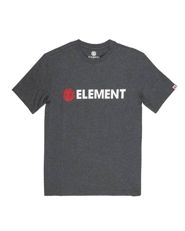 0 Blazin' T-Shirt Grey M401QEBL Element