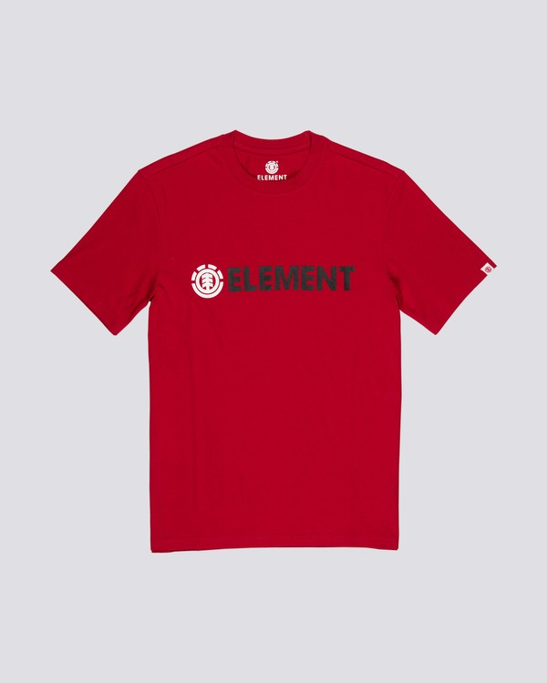 0 Blazin T-Shirt Red M401QEBL Element