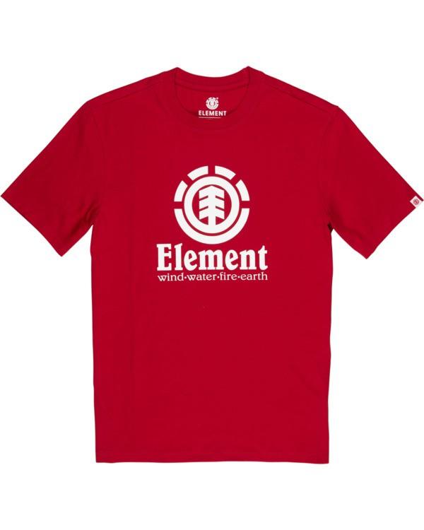 0 Vertical T-Shirt Red M401QEVE Element