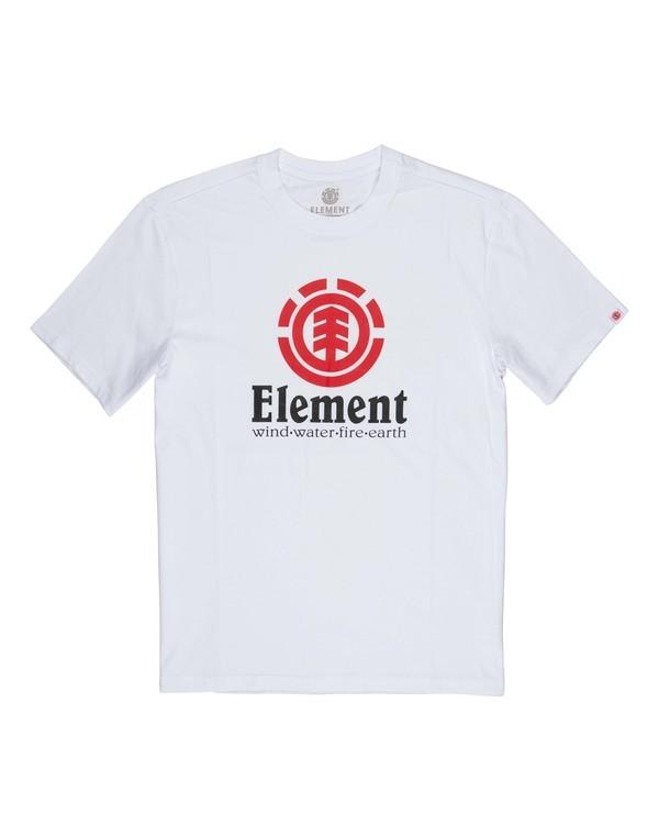 0 Vertical T-Shirt White M401QEVE Element