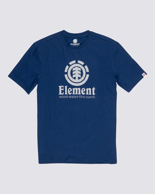 0 Vertical T-Shirt Black M401QEVE Element