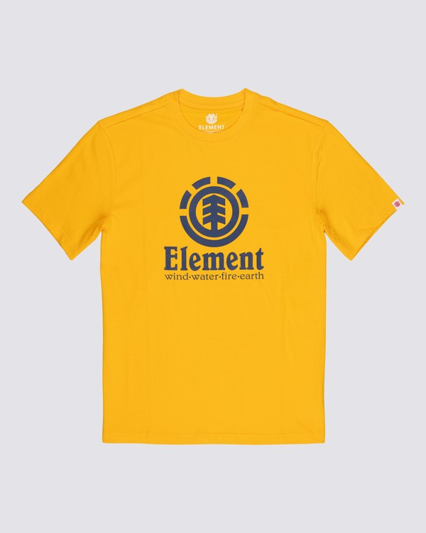 0 Vertical T-Shirt Yellow M401QEVE Element