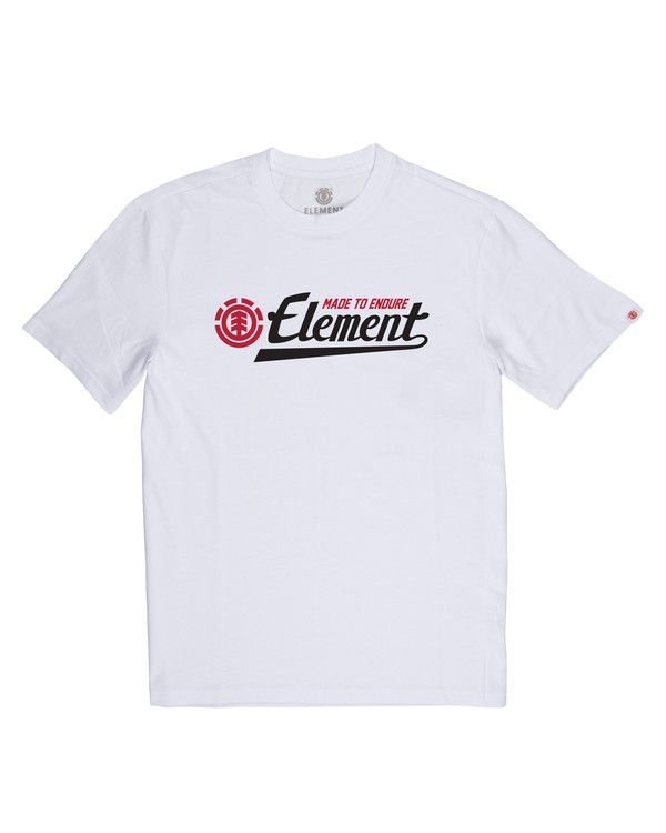 0 Signature T-Shirt White M401VESI Element