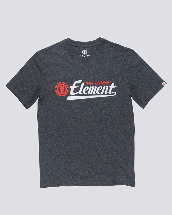0 Signature T-Shirt Grey M401VESI Element
