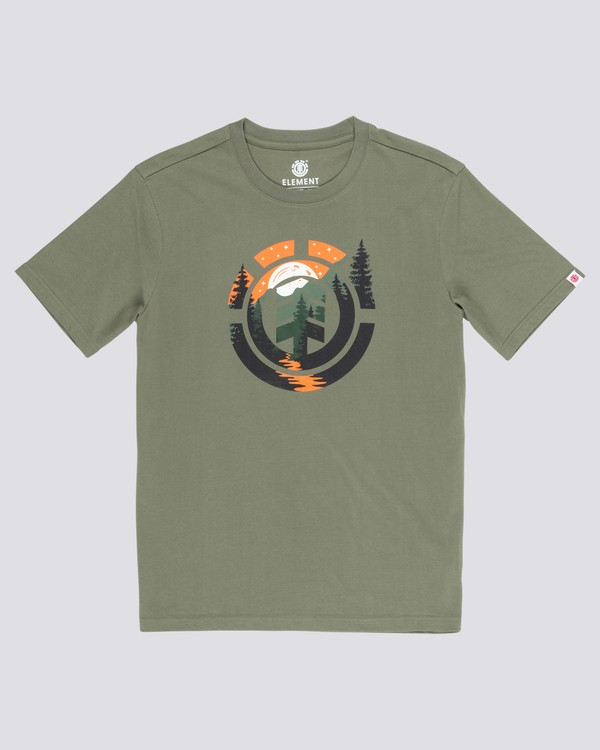 0 Stassen T-Shirt Green M401WEMO Element