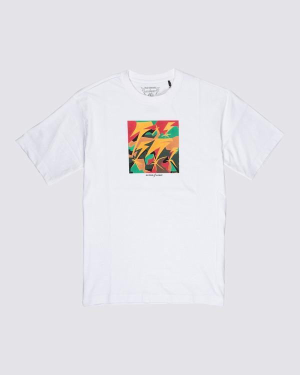 0 Bad Brains Brainstorm T-Shirt White M4031EBR Element