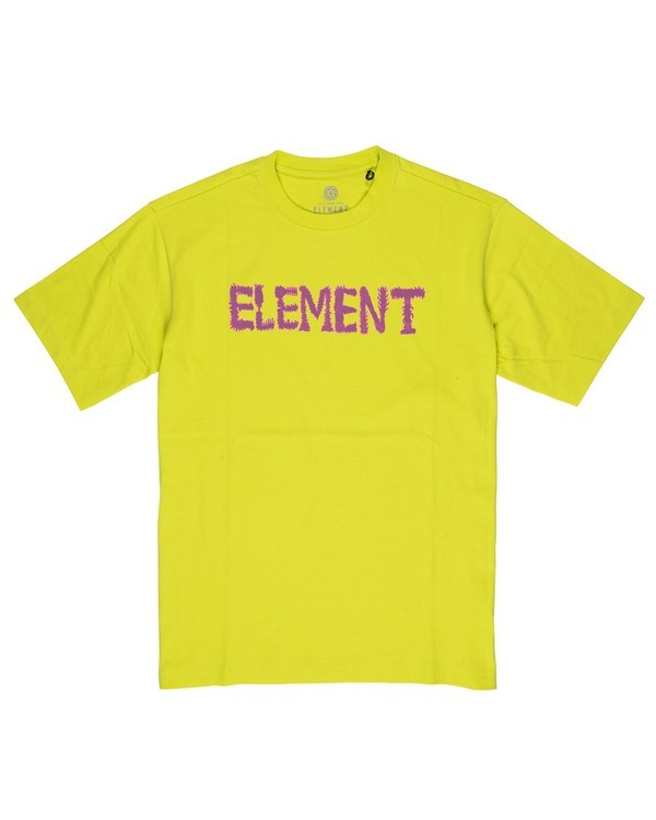 0 Lettering T-Shirt Pink M4032ELT Element