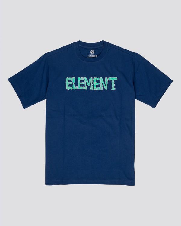 0 Lettering T-Shirt Black M4032ELT Element