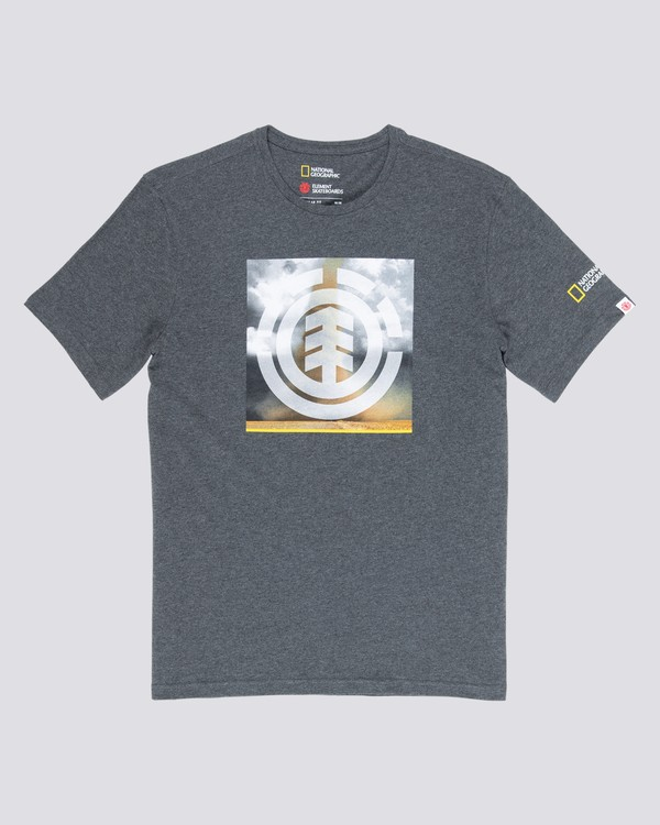 0 Combust Icon T-Shirt Grey M406WECO Element