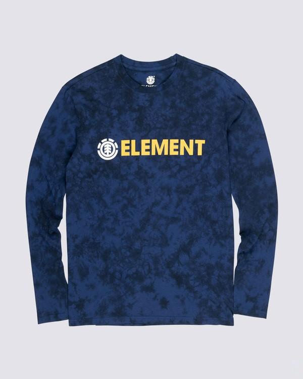 0 Blazer Long Sleeve T-Shirt Black M4511EBL Element