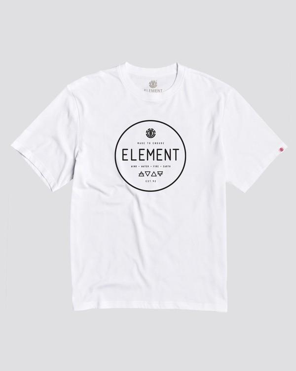 0 Alchemist T-Shirt White M462BTAL Element