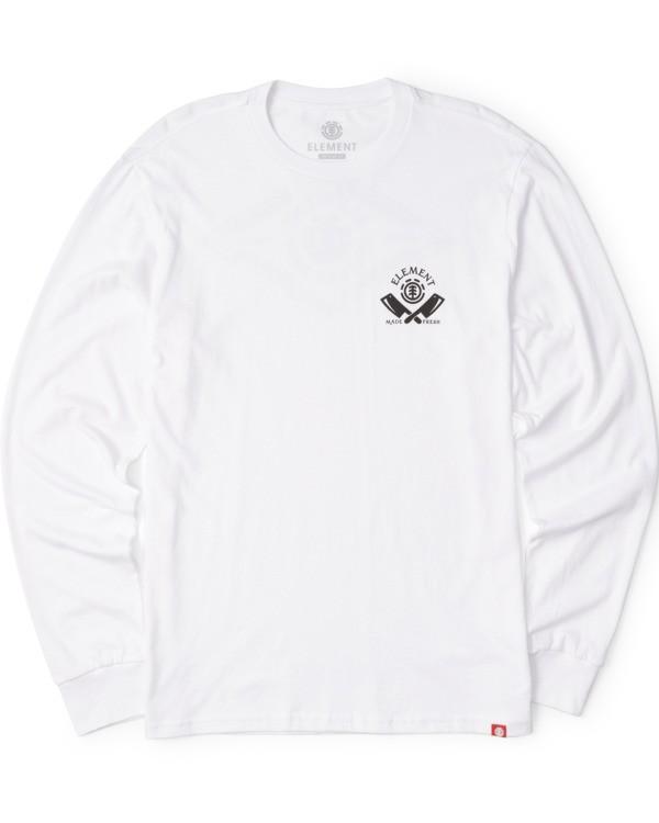 0 Loxley Long Sleeve Shirt White M4753ELO Element