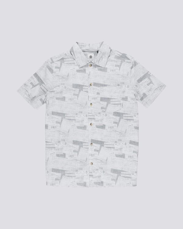 0 Destination Short Sleeve Shirt Black M505TEDE Element