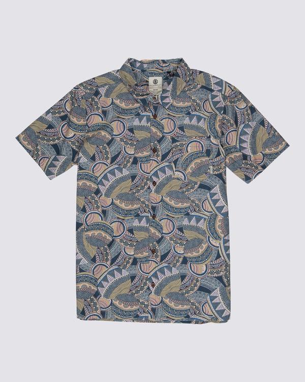 0 Turtle Shirt Blue M5301ETU Element