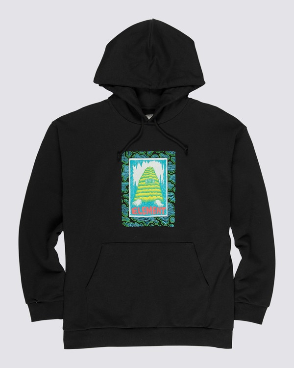 0 Pyramid Man Pullover Hoodie Blue M6162EPY Element