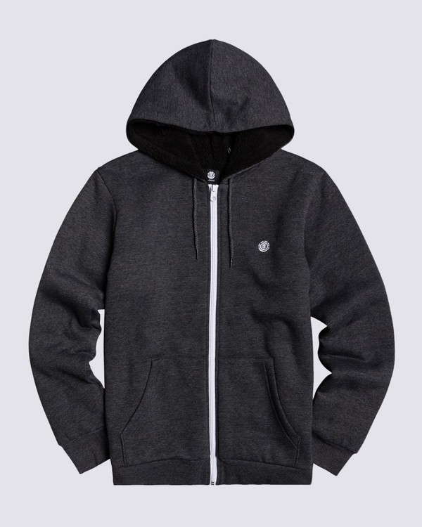 0 Bolton Zip-Up Hoodie Grey M6464EBO Element