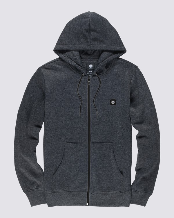 0 92 Zip-Up Hoodie Grey M6781E9Z Element