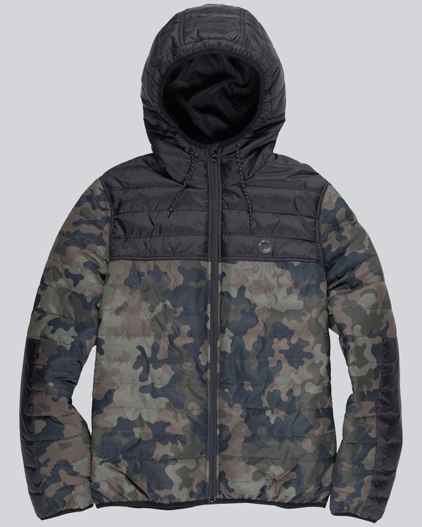 0 Alder Puff Travel Well Jacket Camo M724QEPT Element