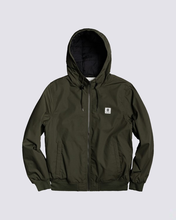 0 Dulcey Jacket Green M7543EDU Element