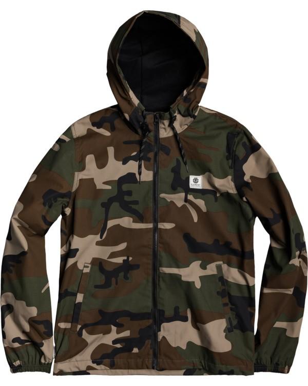 0 Alder Jacket Black M7553EAL Element