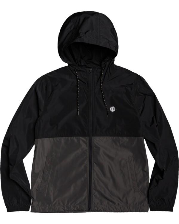 0 Alder Fundamental Jacket Black M7713EAF Element