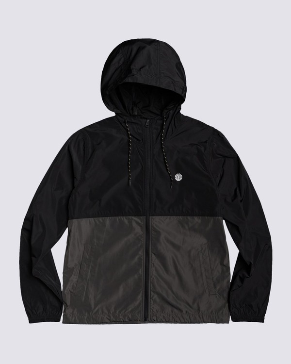 0 Alder Fundamental Jacket Black M7713EAF Element