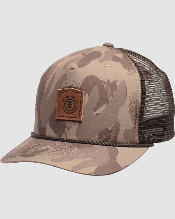 0 Wolfeboro Trucker Hat Brown MAHTVEWT Element