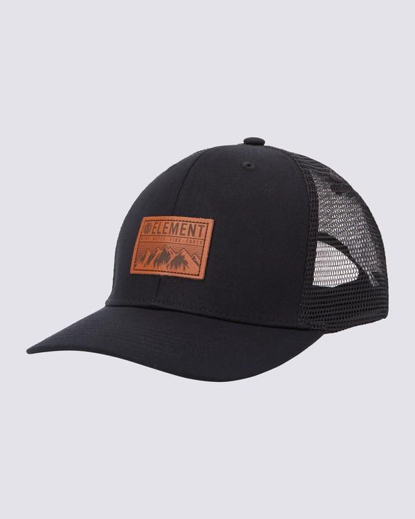 0 Peaks Trucker Hat Blue MAHTWEPE Element