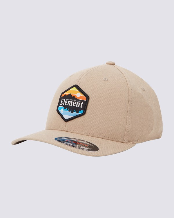 0 Sunset Curve Flexfit Hat Brown MAHTWESU Element