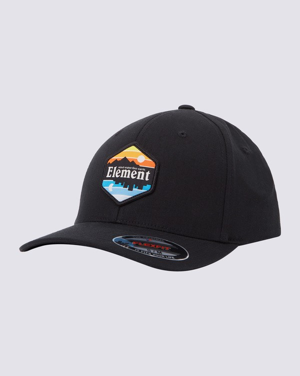 0 Sunset Curve Flexfit Hat Blue MAHTWESU Element