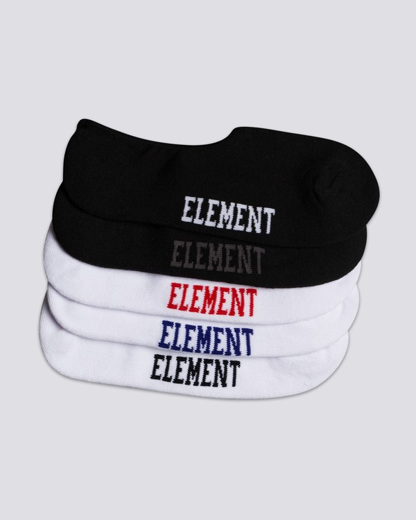 0 Low-Rise Socks 5 Pack  MASKELOR Element