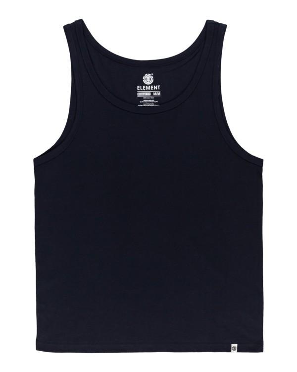 0 Basic - Vest for Men Blue N1SGA6ELP9 Element