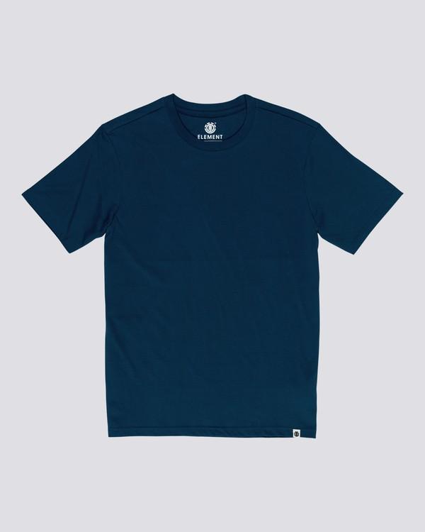 0 Basic - T-Shirt manches courtes pour Homme Bleu N1SSG1ELP9 Element