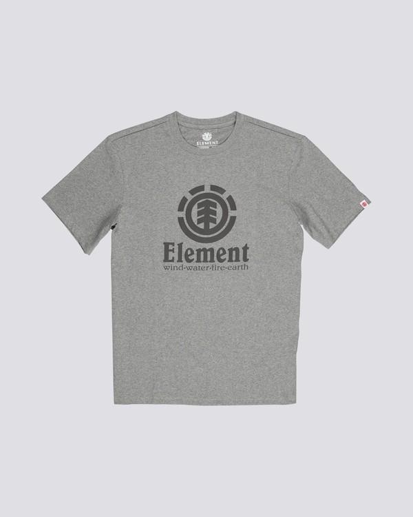 0 Vertical - Maglietta a maniche corte da Uomo Gray N1SSG4ELP9 Element