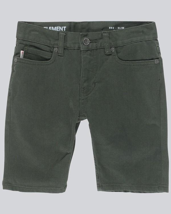 0 E02 Color - Shorts for Boys Green N2WKA4ELP9 Element