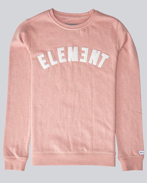 0 Logo Crew Fleece - Fleece for Women Pink N3CRA1ELP9 Element