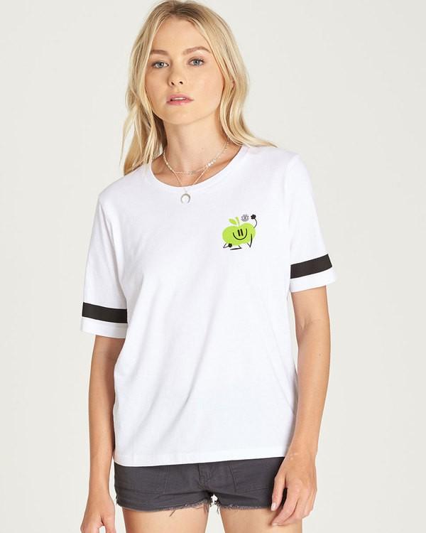 0 Yawyd Cr - Tee Shirt for Women White N3SSB7ELP9 Element