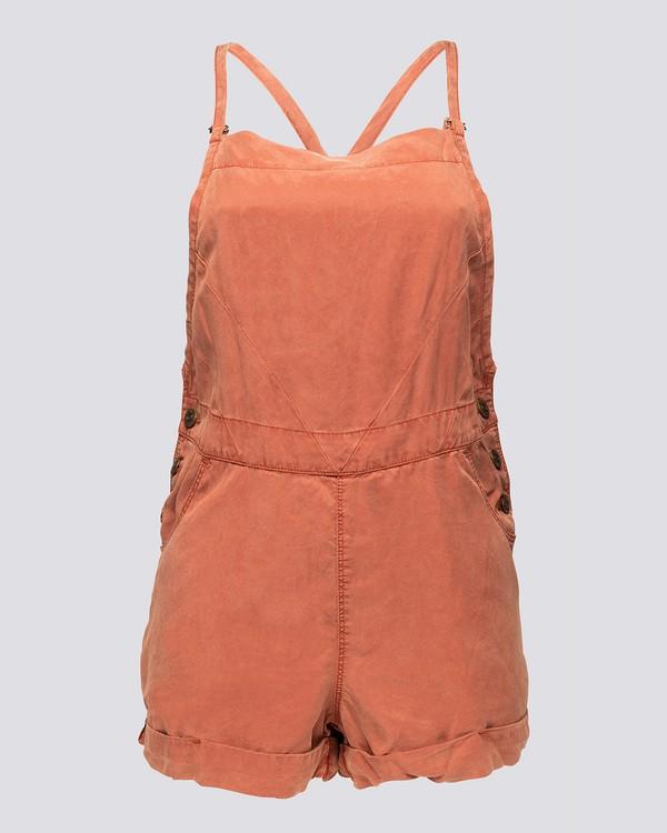 0 Mary Overall - Walkshort for Women Orange N3WKA6ELP9 Element