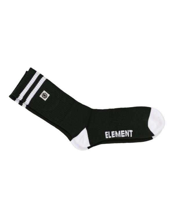 0 Clearsights - Chaussettes pour Homme Vert N5SOA1ELP9 Element