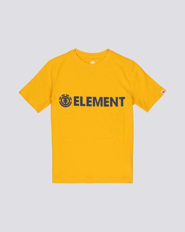0 Blazin - Camiseta de manga corta para Niño  Q2SSA3ELF9 Element