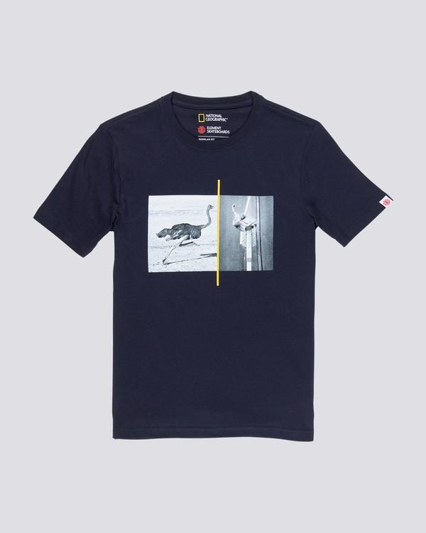 0 Ostrich Apse Boy - T-Shirt Blue Q2SSC3ELF9 Element