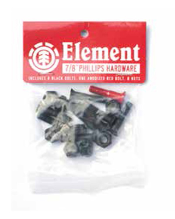 0 Phlips Hdwr 1 Inch - Skate Accessories Black Q4AHA9ELF9 Element