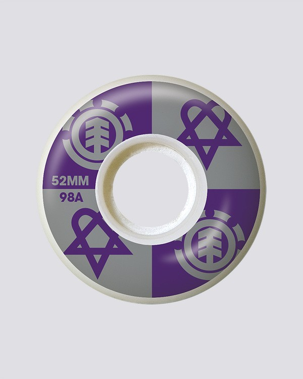 0 Bam Heartagram 52 mm - 52mm Wheels  Q4WHA4ELF9 Element