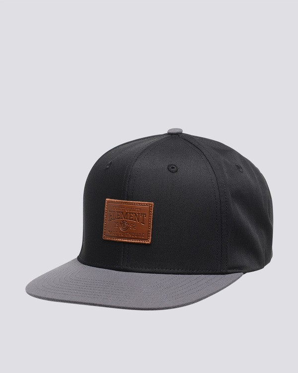 0 Collective - Cappellino da Uomo Black Q5CTA6ELF9 Element