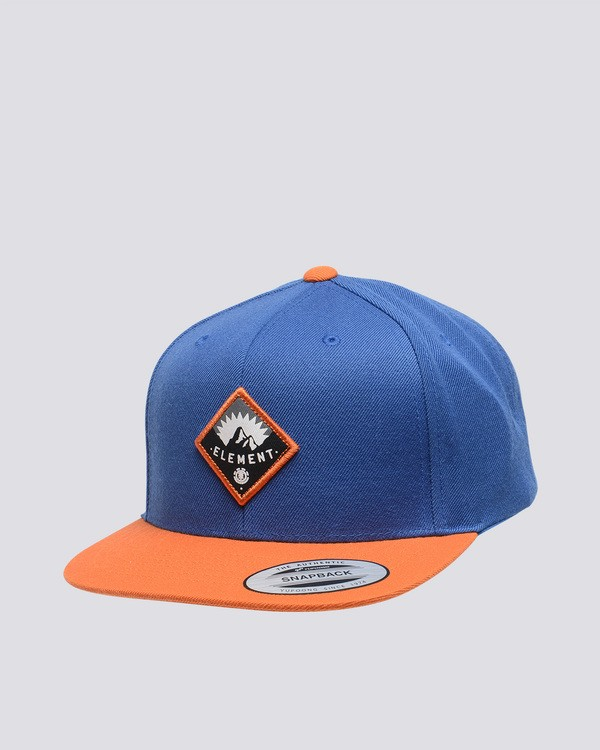 0 Trekker - Snapback Cap Orange Q5CTA8ELF9 Element