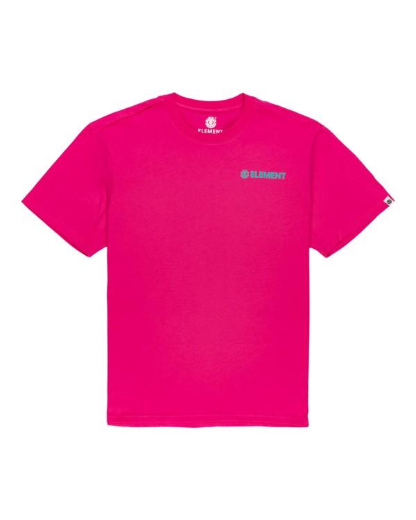 0 Blazin Chest - Short Sleeve T-Shirt for Men Red S1SSA1ELP0 Element