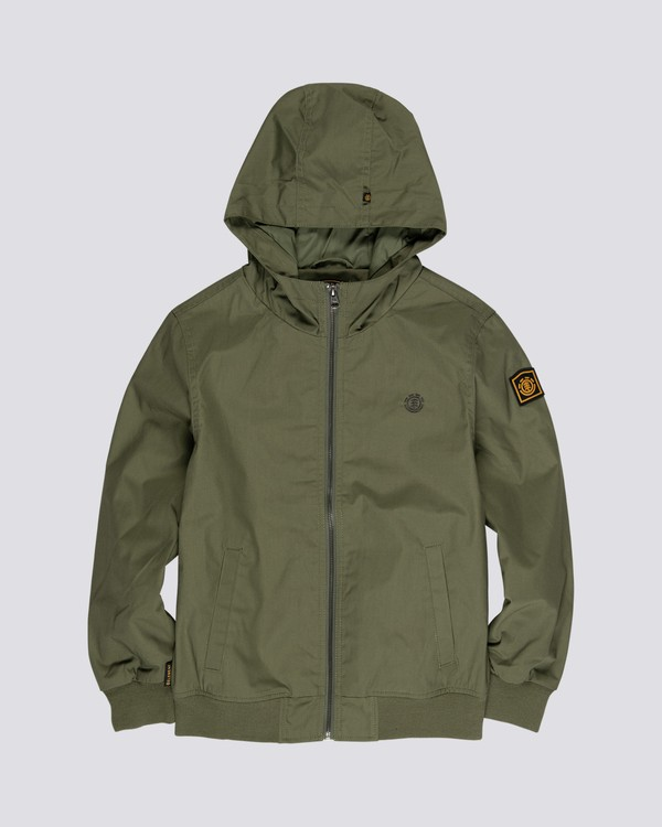 0 Dulcey Light - Water-Resistant Jacket for Boys Brown S2JKA1ELP0 Element