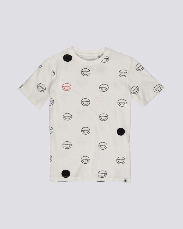 0 Calvin - Short Sleeve Top for Boys  S2KTA5ELP0 Element