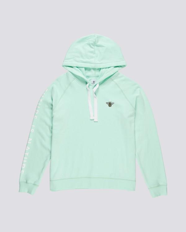 0 Branded - Sweat à capuche pour Femme Bleu S3HOA5ELP0 Element