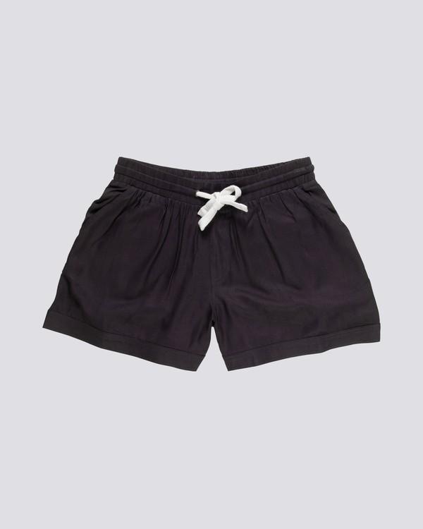 0 Enough - Viscose Shorts for Women Black S3WKA6ELP0 Element